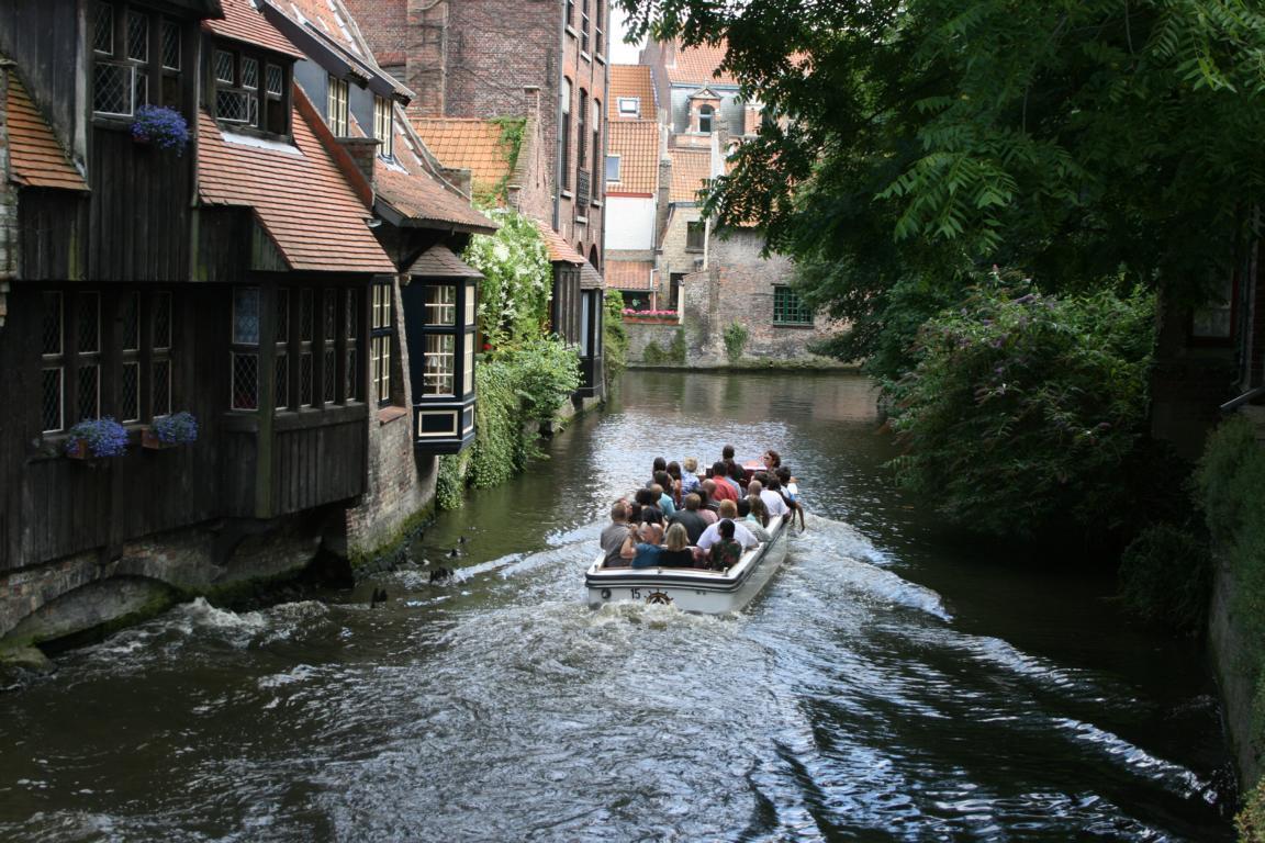 Kanalfahrt in Brügge