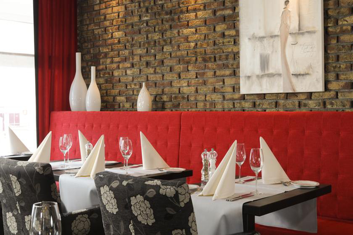 """Restaurant """"Jean d'Haut"""" Hotel """"de Schelde"""" Cadzand-Bad"""