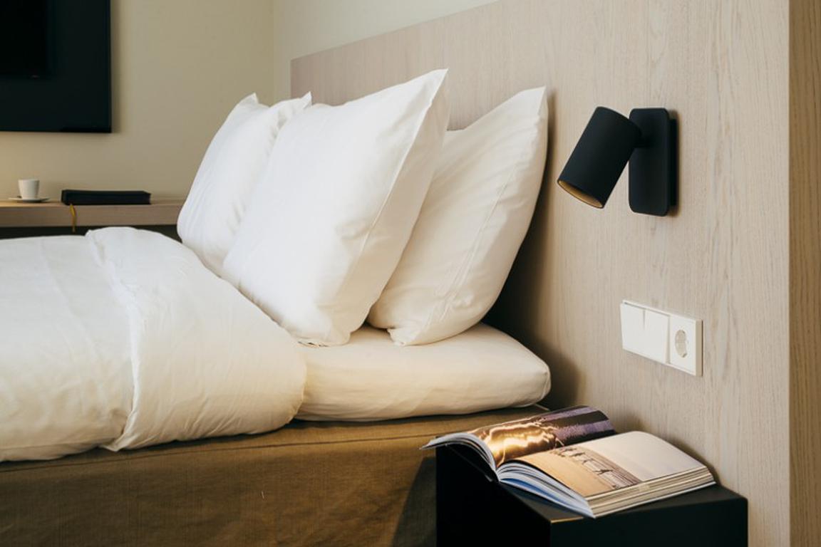"Deluxe-Doppelzimmer Landblick: ""Strandhotel"" in Cadzand-Bad"