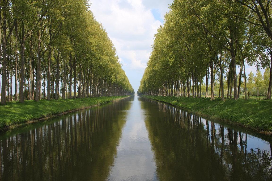 Leopoldkanaal in Belgien