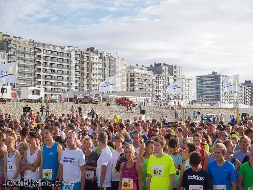 Knokke-Heist: Strandlauf
